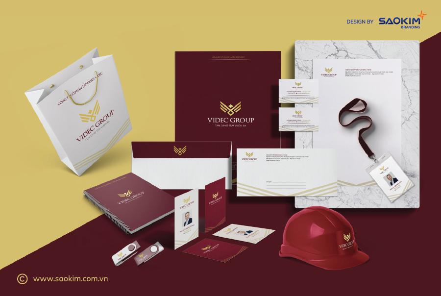 [Saokim.com.vn] Logo Videc Group thiết kế bởi Sao Kim Branding