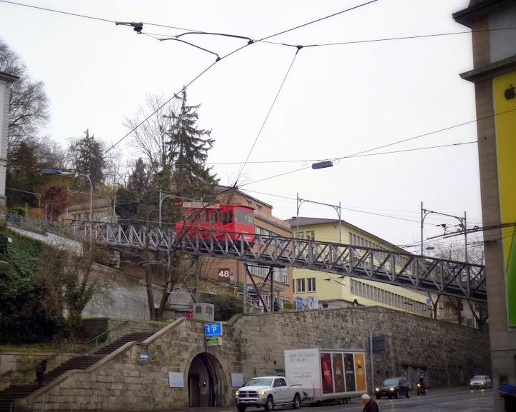 Polybahn in Zurich