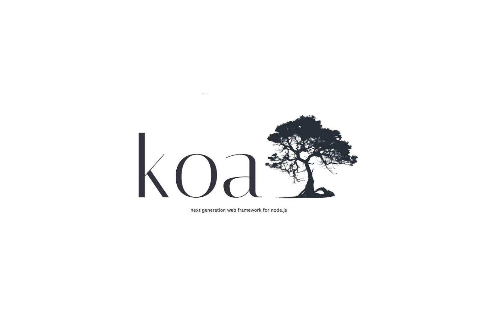 koa js node js framework