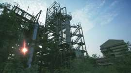 350 tonnes of waste and factory deaths that no one even counts: The abandoned Union Carbide plant in Bhopal. (Source: Reuters)