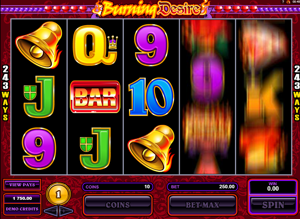 Burning Desire Slots Machine Review