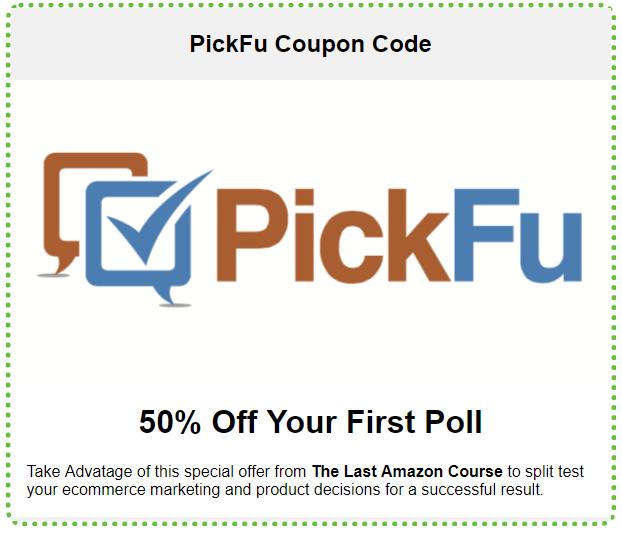 PickFu coupon Promo code