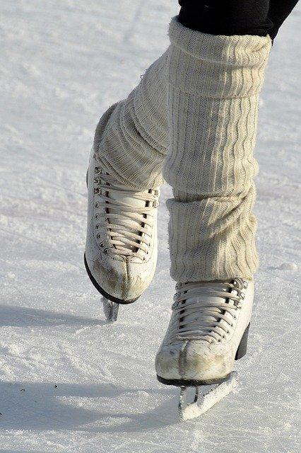 Skates, Figure Skating, Drive, Sport, Winter, Cold
