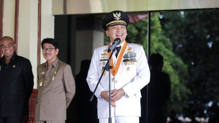 BERITA FOTO - Sambutan Perpisahan Ridho Ficardo di Kantor Gubernur - Tribun  Lampung