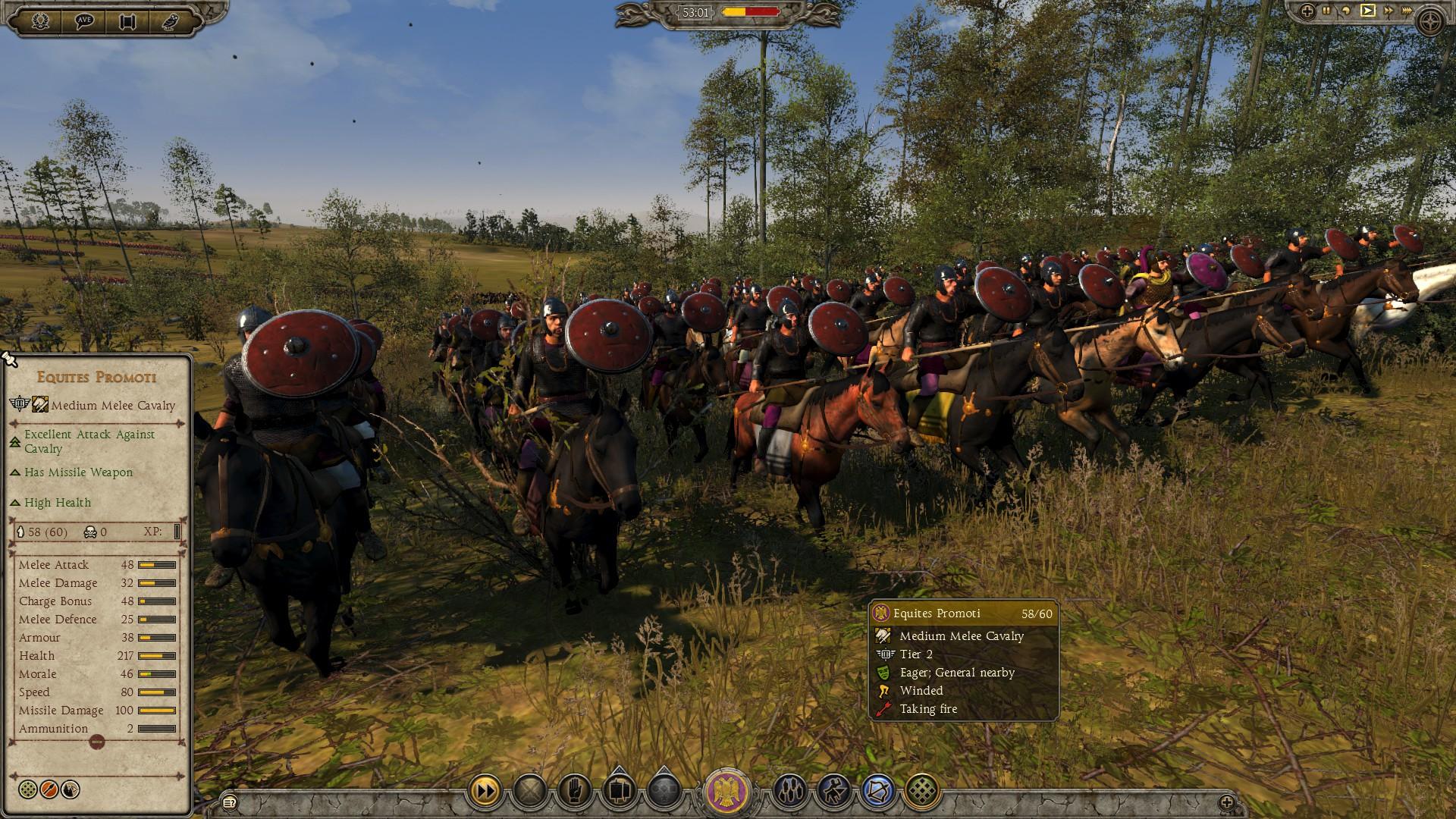 Equites Promoti - Western Roman Empire - Total War: Attila - Royal