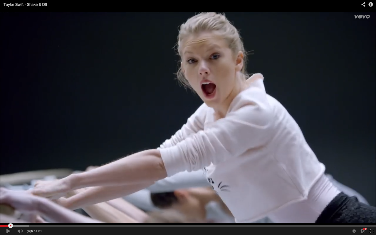 "Real-Time Reaction: Taylor Swift's ""Shake it Off"" 