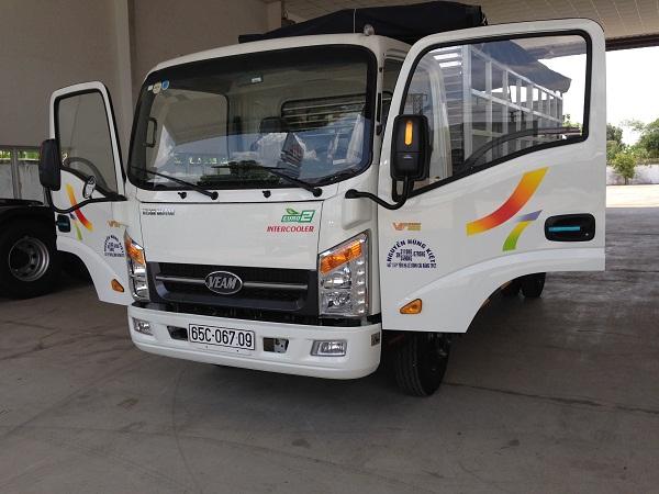 Bán xe tải veam VT350 3.5 tấn với giá cực sốc, hổ trợ trả góp 80%