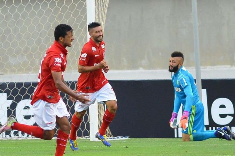 Flamengo perde para o Vila Nova por 2x1