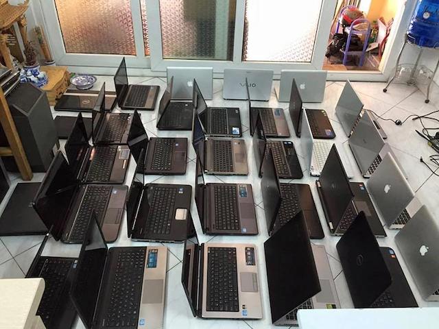 Giá thu mua laptop phụ thuộc vào từng loại máy