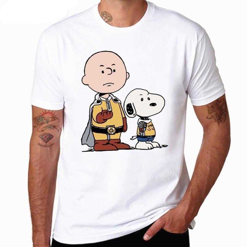 T-Shirt One Punch Man Saitama Snoopy XS Official Dr. Stone Merch