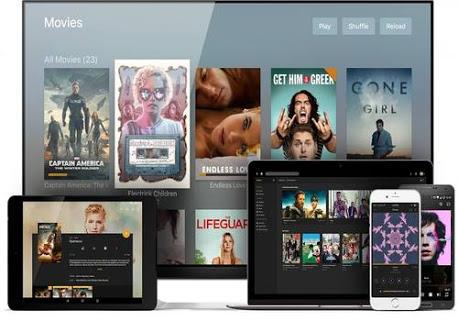تحميل برنامج Plex and plex media server  للاتصال وايرلس للتلفزيون الذكي smart tv