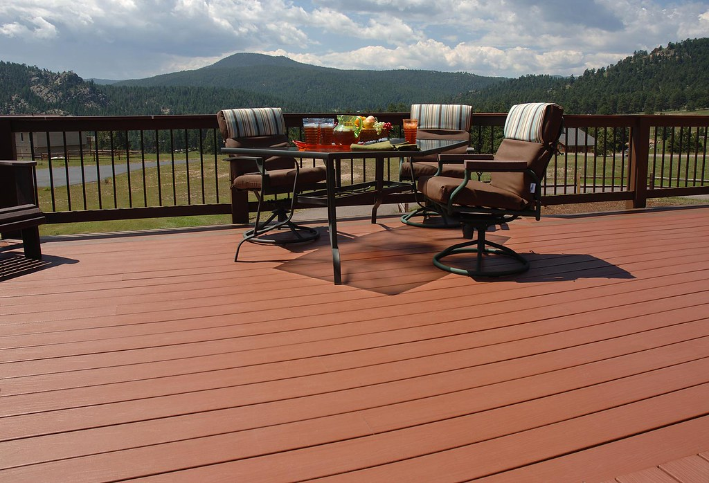 Composite Decking with View