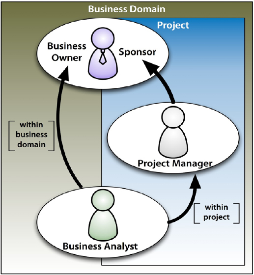 3 different roles in context of project governance