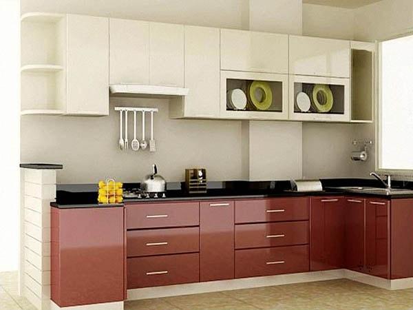 sơn tủ bếp gỗ