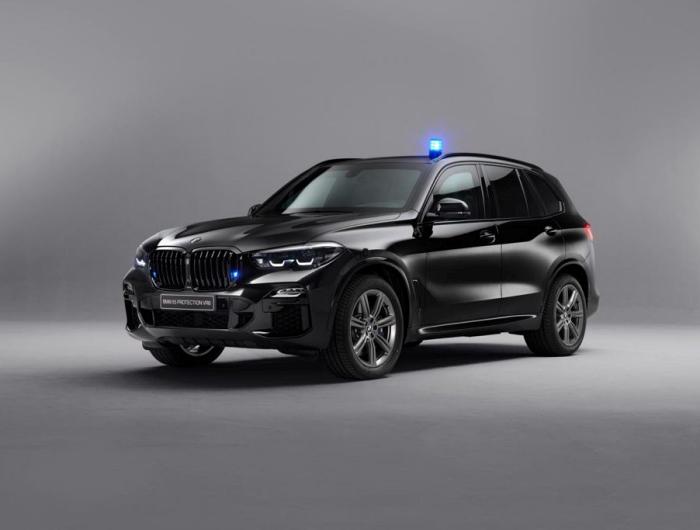BMW X5 Protection VR6 มาพร้อมไฟและเสียงสัญญาณไซเรนด้วย
