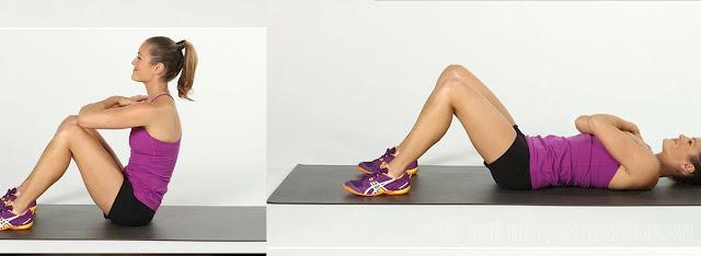 Tập Sit-up giảm cân
