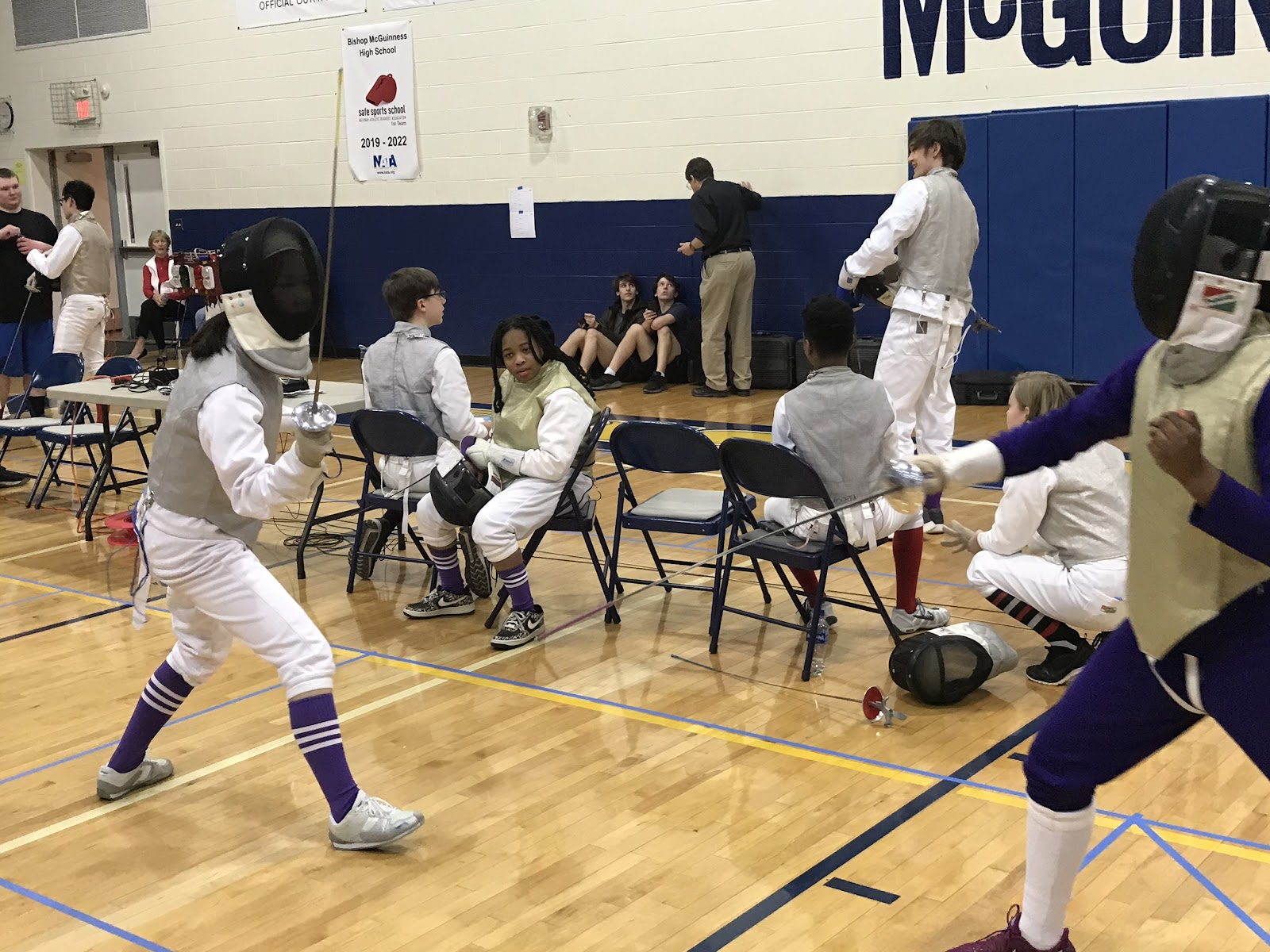 Fencing Athletes