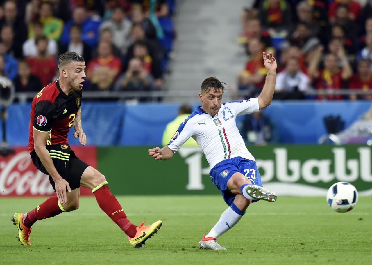 Ở lần đối đầu tại Euro 2016, Ý đã giành chiến thắng trước Bỉ