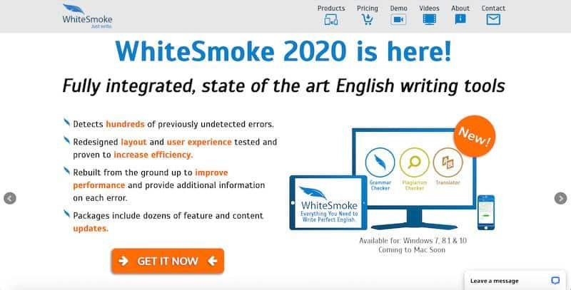 WhiteSmoke - cost-efficient grammar checker