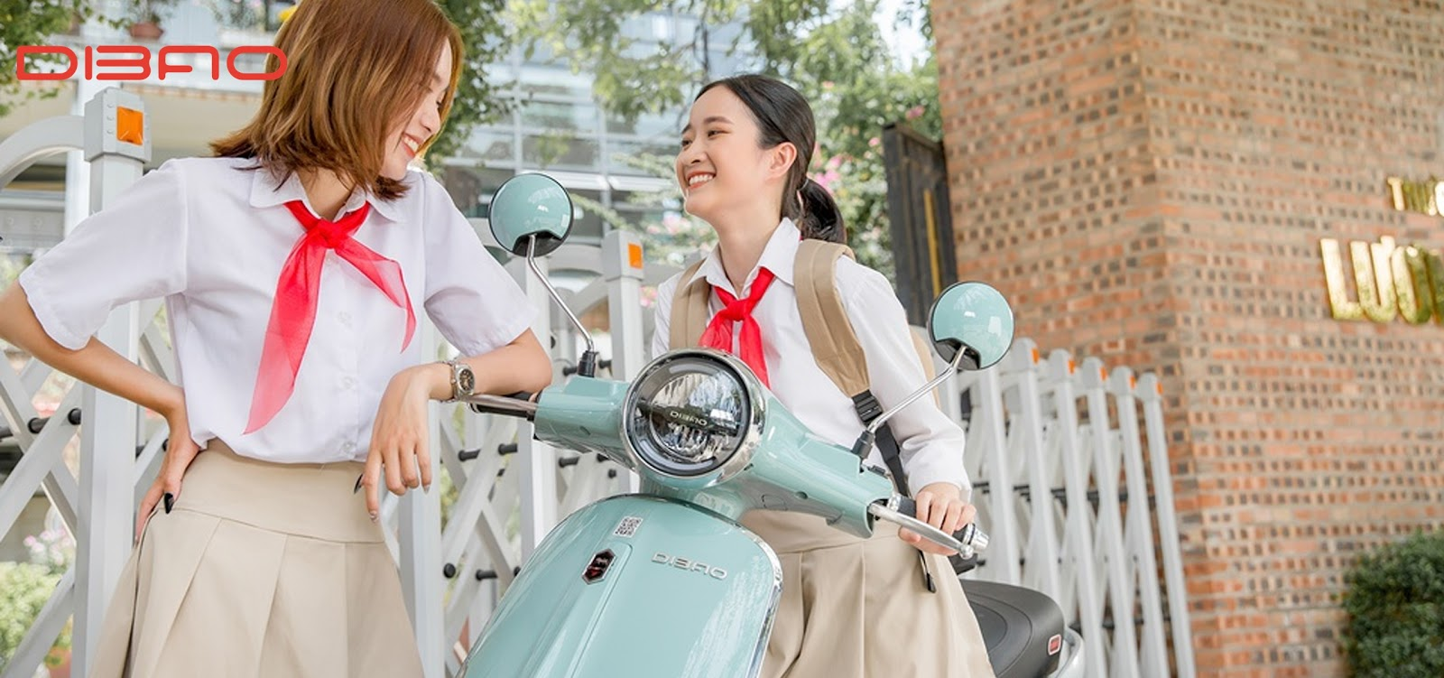 Dibao Tesla là mẫu xe máy điện phù hợp với các bạn học sinh