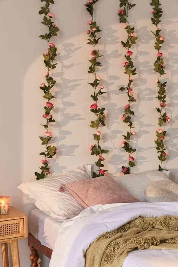 Hang DIY Flower Wall Decor
