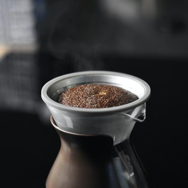 手沖咖啡-悶蒸技巧