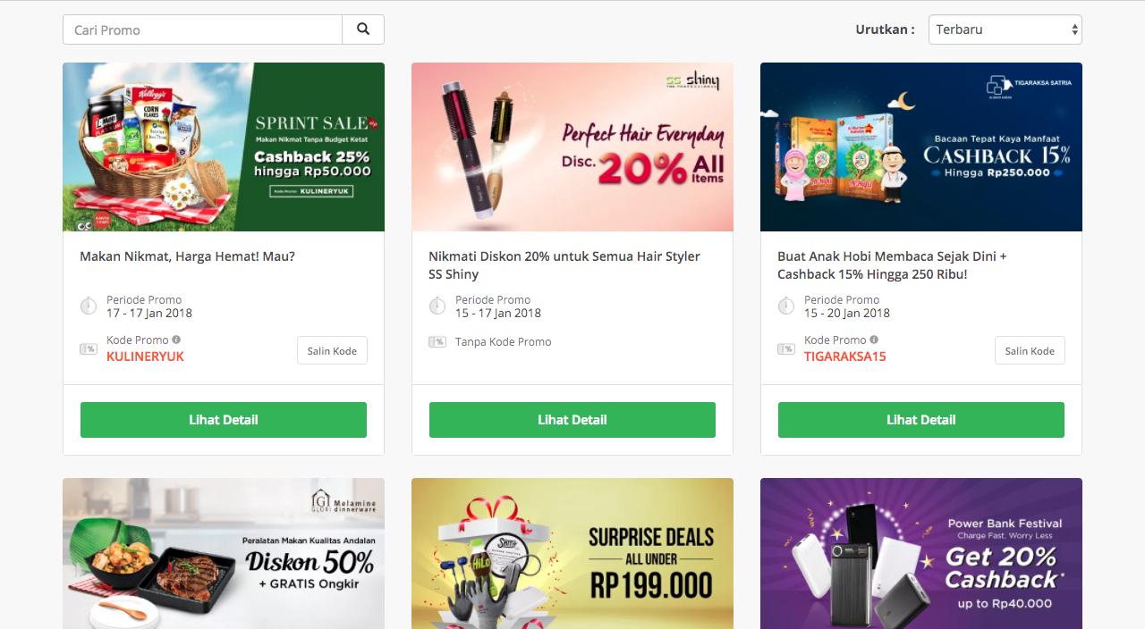 Kode Voucher Tokopedia Indonesia Promo Desember 2020 Cardable