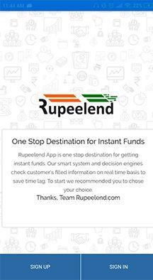 RupeeLend Loan