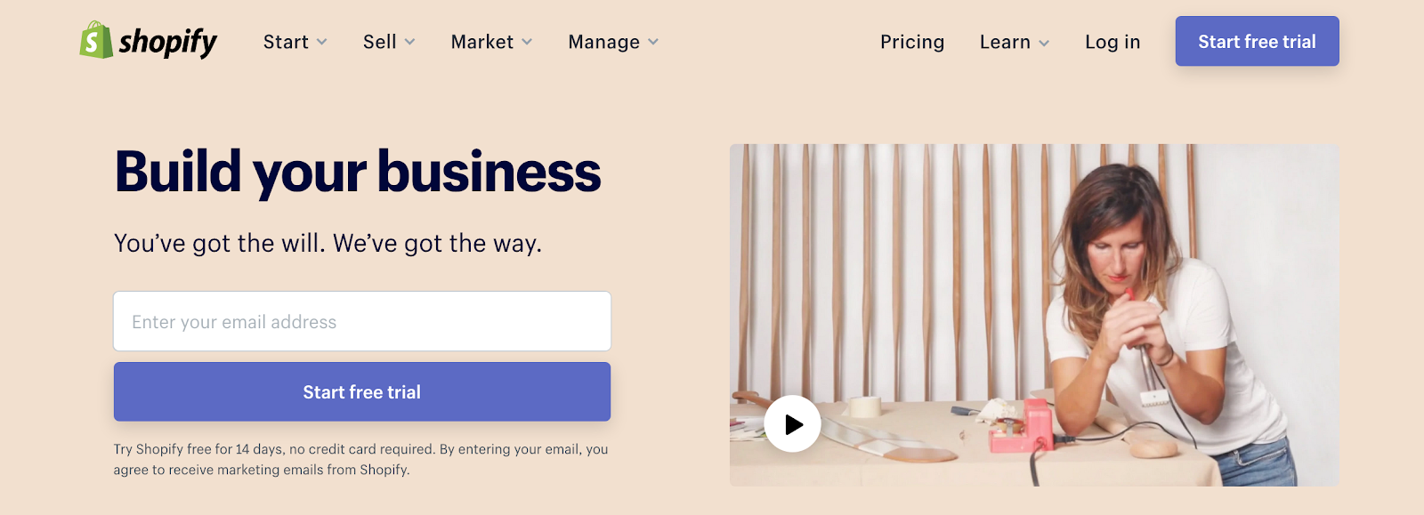 Build Your E-Commerce Business | Shopify