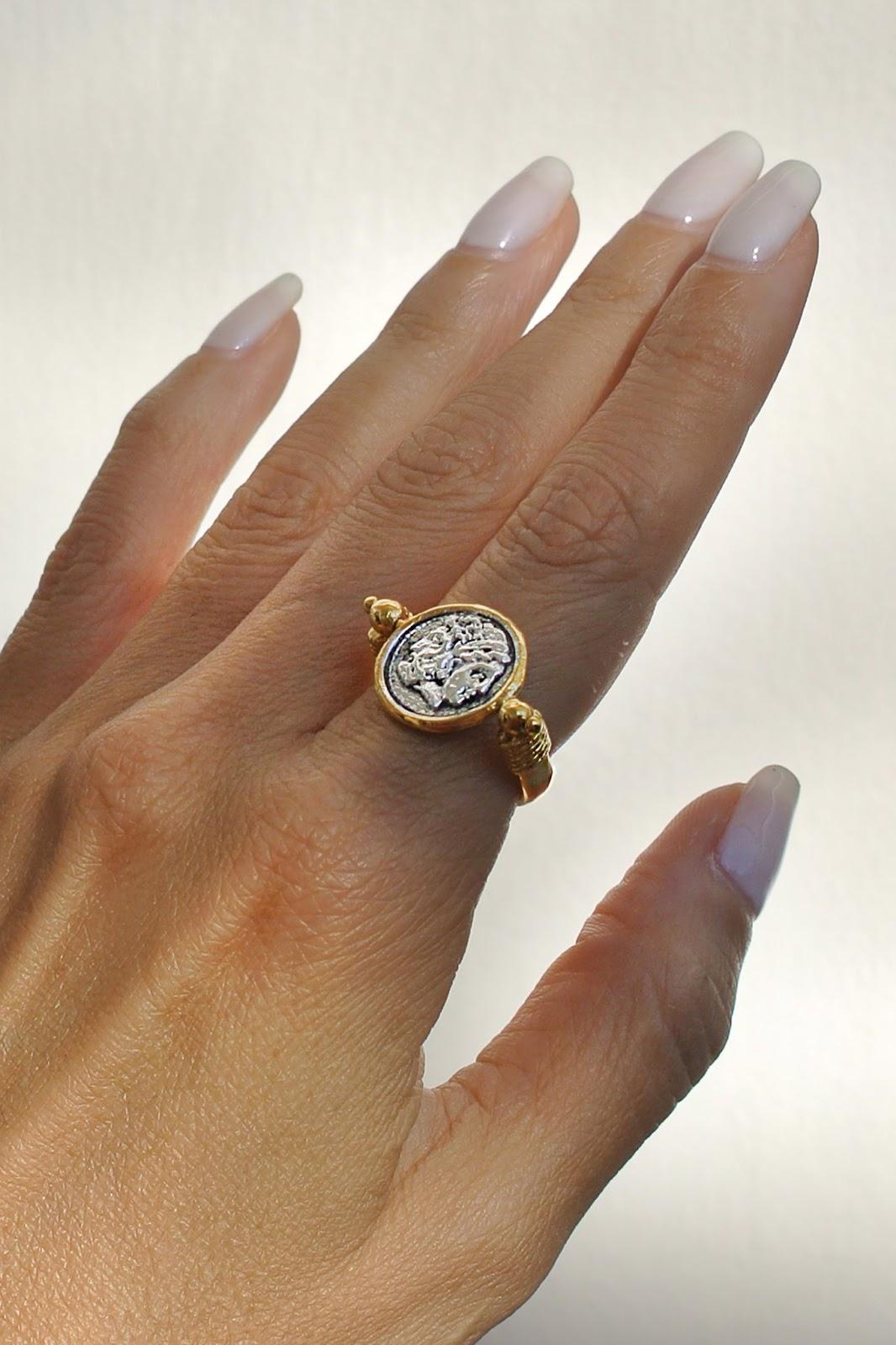 Janus Ring Necklace