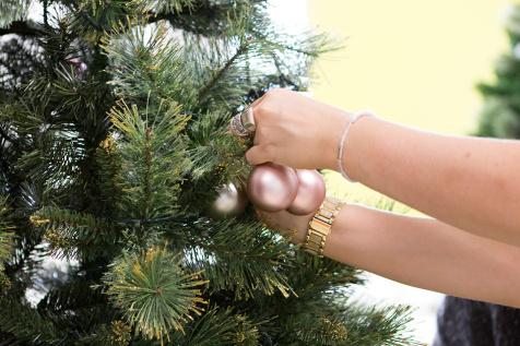 ako ozdobit vianocny stromcek, bombule