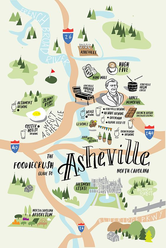 Food Bloggers' Guide of Where to Eat in Asheville, NC | foodiecrush.com:
