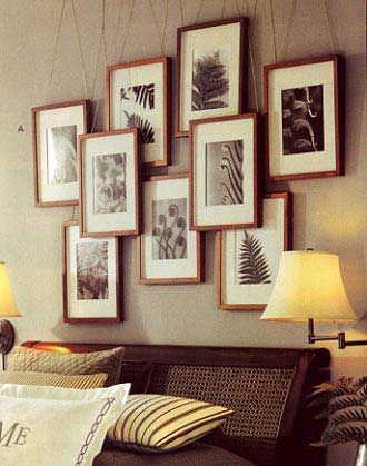 .Overlap your Square Wall Gallery