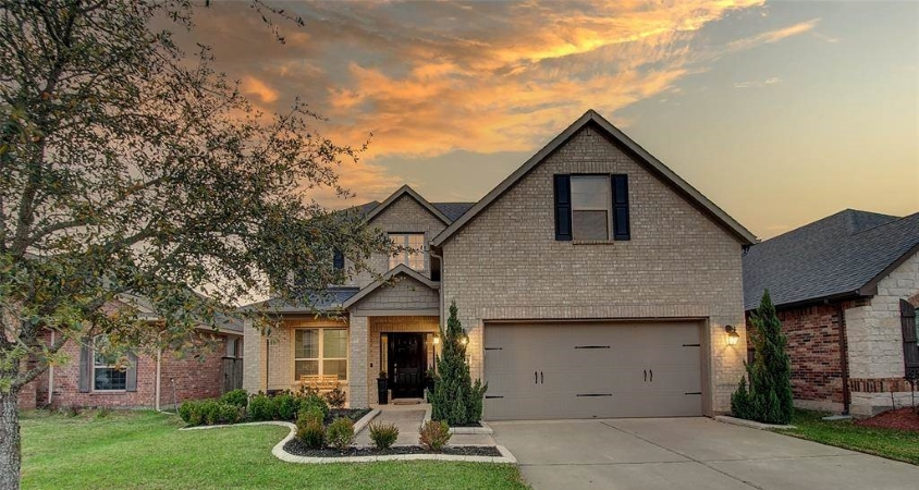 single-family home in Katy, TX -- one of the Houston suburbs