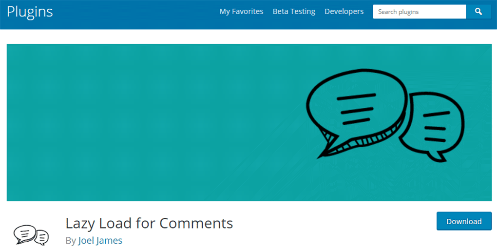 plugin lazy load for comments para wordpress