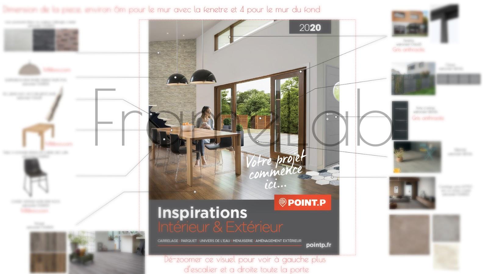 Making Of De La Couverture Printemps 2020 De Point P Par Frame Lab 3dvf