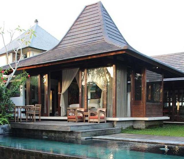 contoh bangunan arsitektur tropis rumah joglo