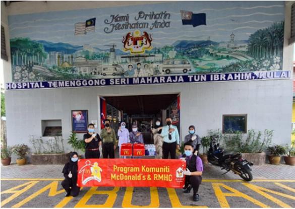 McDonald's Malaysia Menunjukkan Penghargaan kepada Frontliner Perubatan melalui Kempen #KitaBoleh