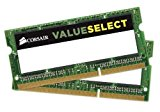 CORSAIR DDR3 SO-DIMM メモリモジュール Value Select Series 8GB×2枚キット CMSO16GX3M2C1600C11