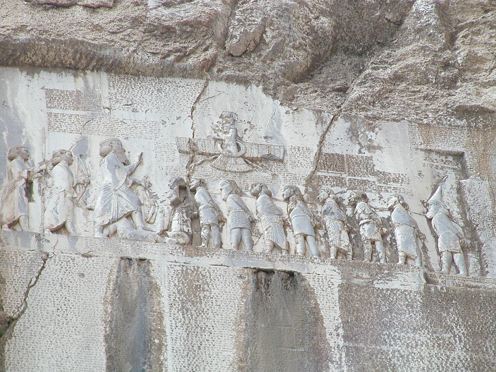 La inscripción de Behistún,