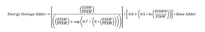battery adder equation