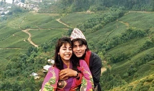 Uncommon & Unseen Photos Of Shah Rukh Khan & Gauri Khan6