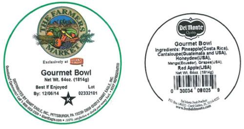 Label, The Farmers Market Gourmet Bowl, 64 oz.