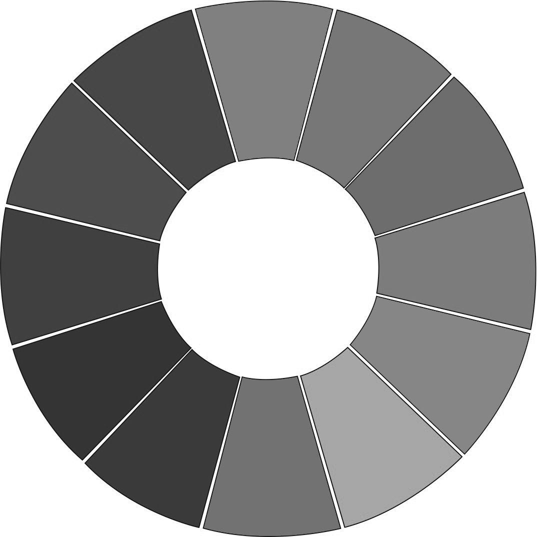 Màu xám- sự giao hòa của màu trắng và màu đen