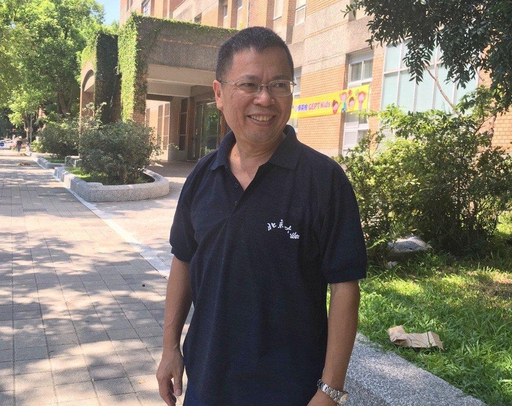 高雄醫學大學附設醫院副院長鄭丞傑。記者江慧珺/攝影