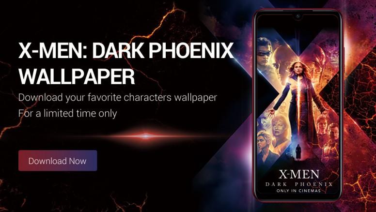 Wallpaper Vous Pouvez Des Maintenant Telecharger Les Fonds D Ecran Officiels X Men Dark Phoenix Theme Mi Community Xiaomi