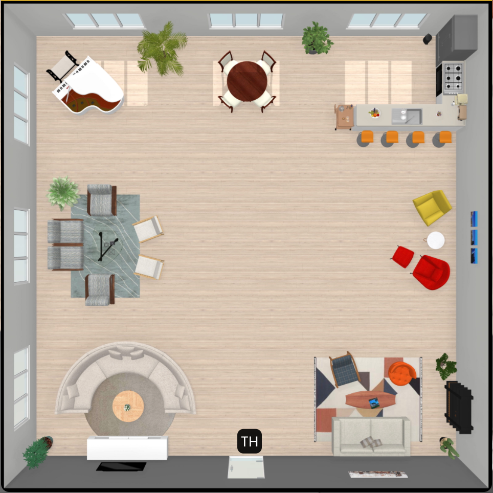 Sample Kumospace room