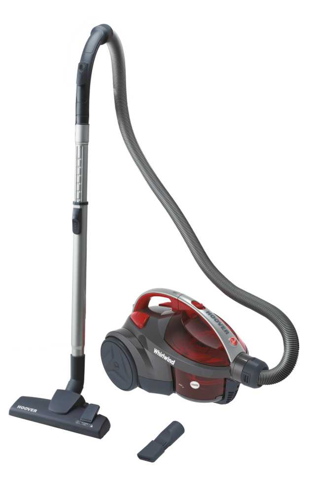 For the best vacuuming experience, a cylinder vacuum cleaner may be the option for you with its detachable container and sleek design Source; hoover.com
