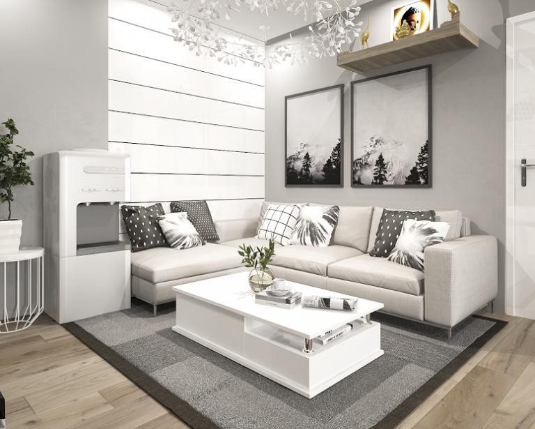Kết quả hình ảnh cho thiết kế nội thất chung cư phong cách hiện đại