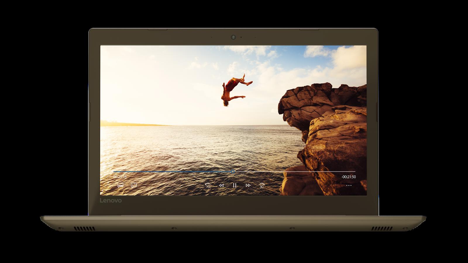 Фото 3 - Ноутбук Lenovo IdeaPad 520-15IKB Bronze (80YL00STRA)